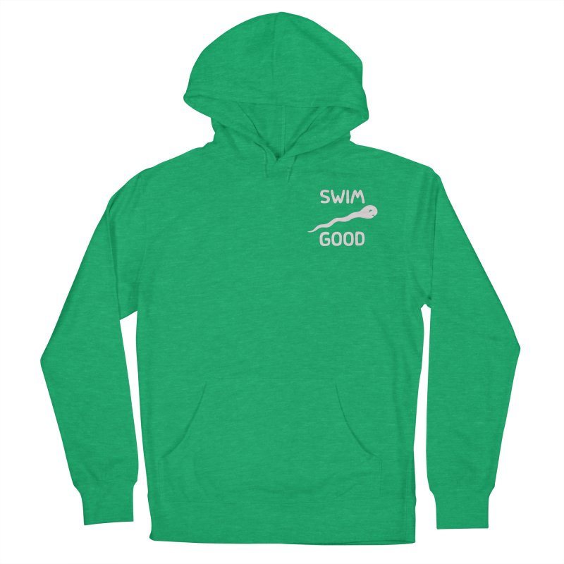SW/M GOOD Men's French Terry Pullover Hoody by DYLAN'S SHOP