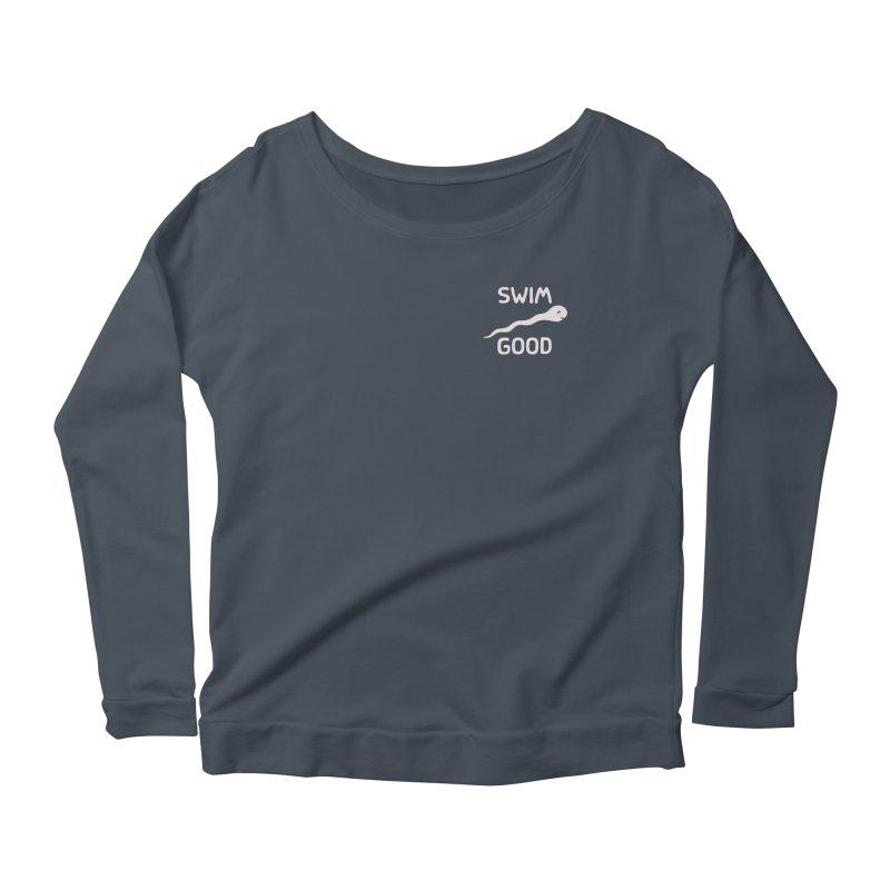 SW/M GOOD Women's Scoop Neck Longsleeve T-Shirt by DYLAN'S SHOP