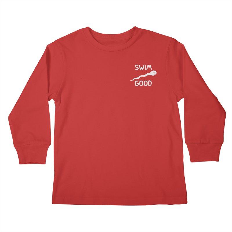 SW/M GOOD Kids Longsleeve T-Shirt by DYLAN'S SHOP