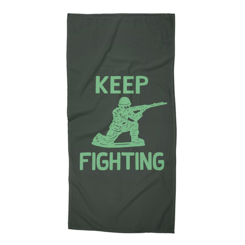 KEEP F/GHT/NG Accessories Beach Towel by DYLAN'S SHOP