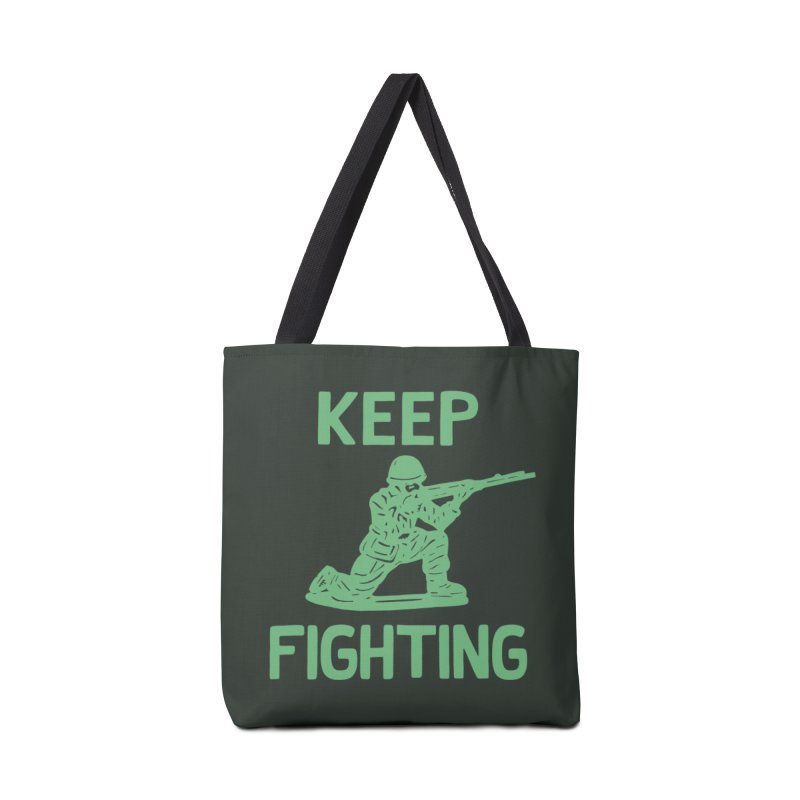 KEEP F/GHT/NG Accessories Bag by DYLAN'S SHOP