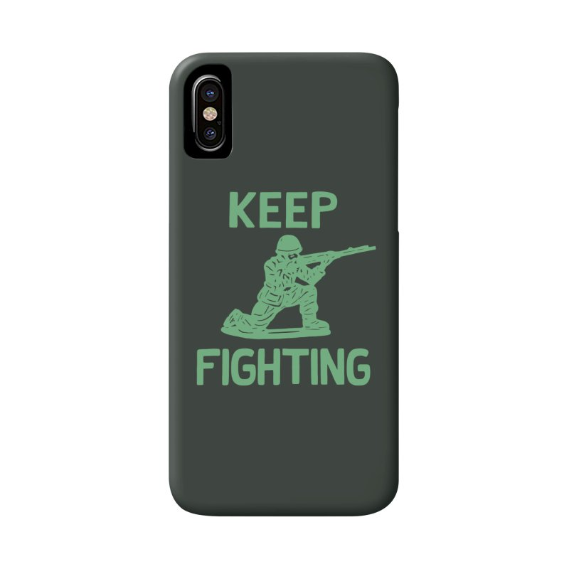 KEEP F/GHT/NG Accessories Phone Case by DYLAN'S SHOP