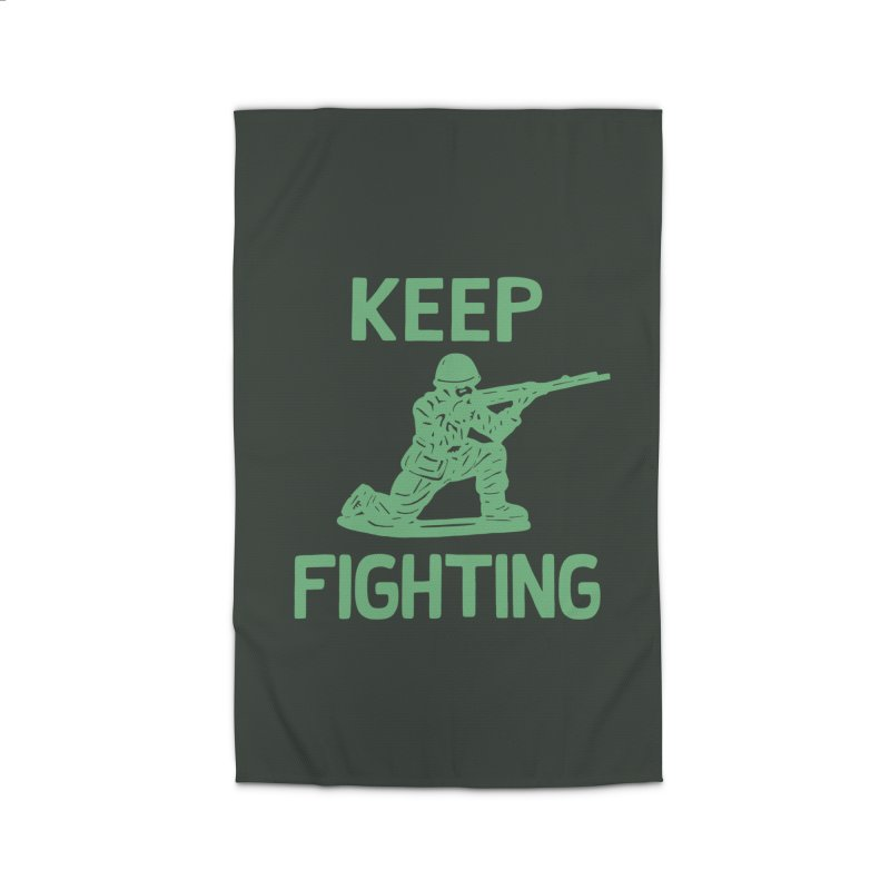 KEEP F/GHT/NG Home Rug by DYLAN'S SHOP