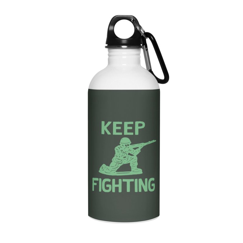 KEEP F/GHT/NG Accessories Water Bottle by DYLAN'S SHOP