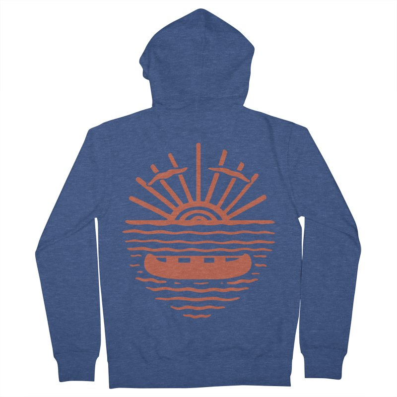 A NEW WAVE Men's French Terry Zip-Up Hoody by DYLAN'S SHOP