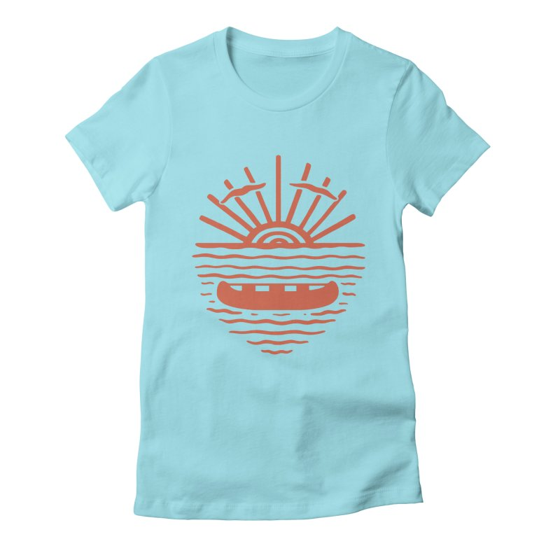 A NEW WAVE Women's Fitted T-Shirt by DYLAN'S SHOP