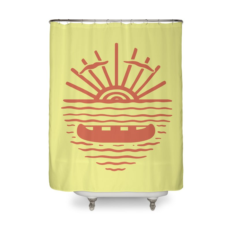 A NEW WAVE Home Shower Curtain by DYLAN'S SHOP