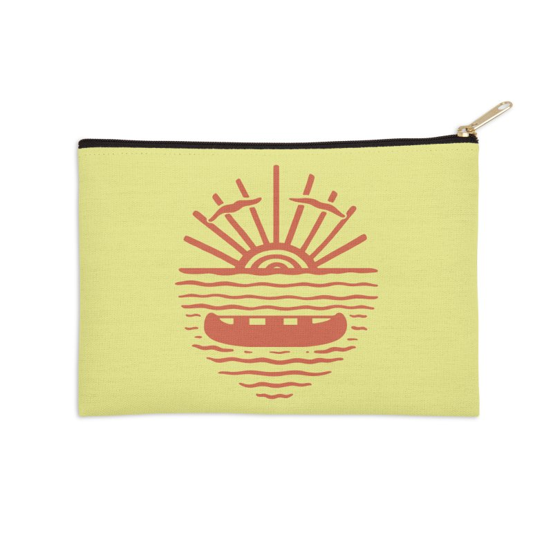 A NEW WAVE Accessories Zip Pouch by DYLAN'S SHOP