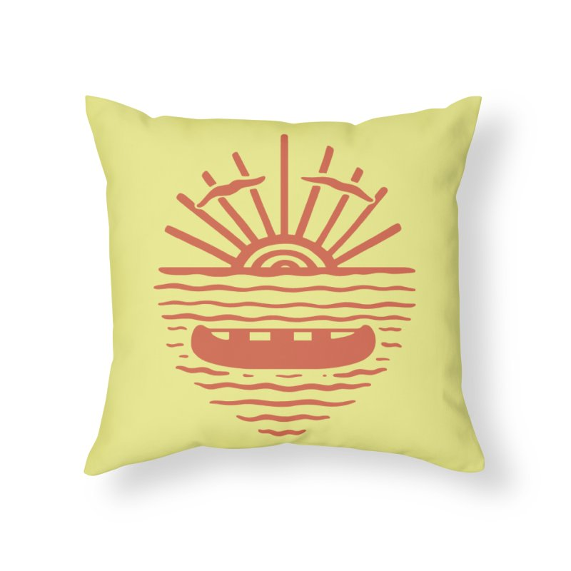 A NEW WAVE Home Throw Pillow by DYLAN'S SHOP