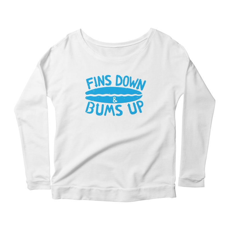PADDLE OUT Women's Scoop Neck Longsleeve T-Shirt by DYLAN'S SHOP