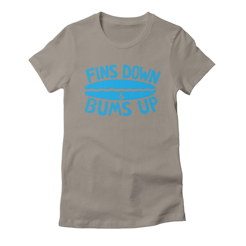 PADDLE OUT Women's Fitted T-Shirt by DYLAN'S SHOP