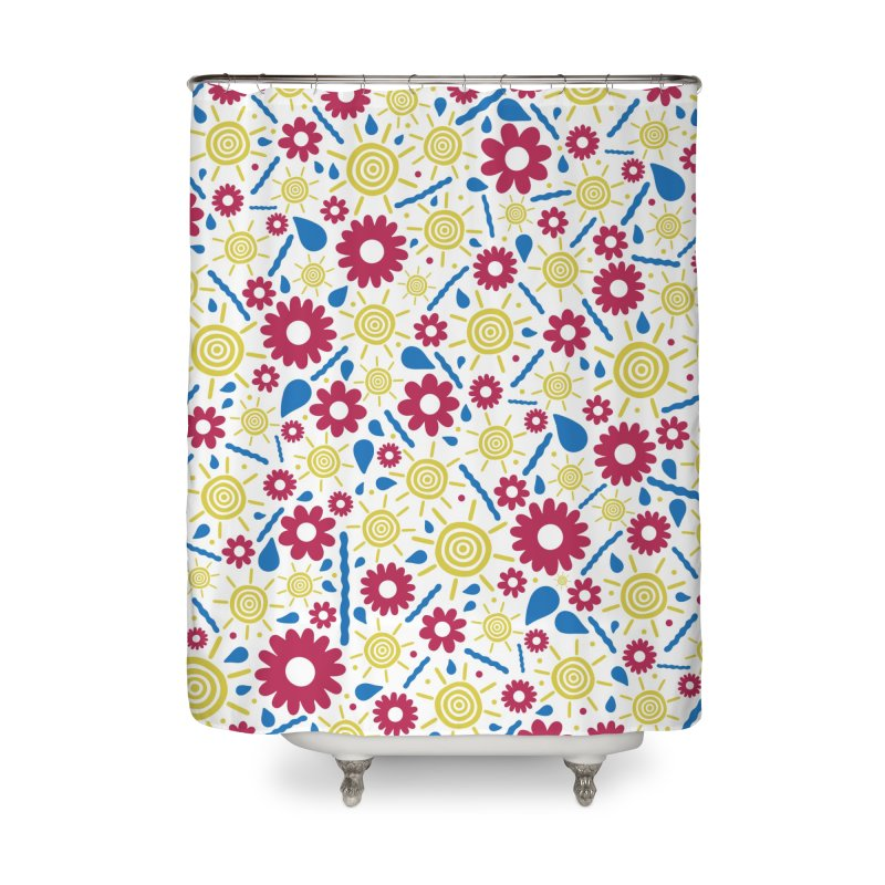 OUTS/DE Home Shower Curtain by DYLAN'S SHOP