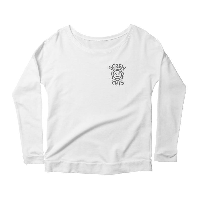 TH/S & THAT INC. Women's Scoop Neck Longsleeve T-Shirt by DYLAN'S SHOP