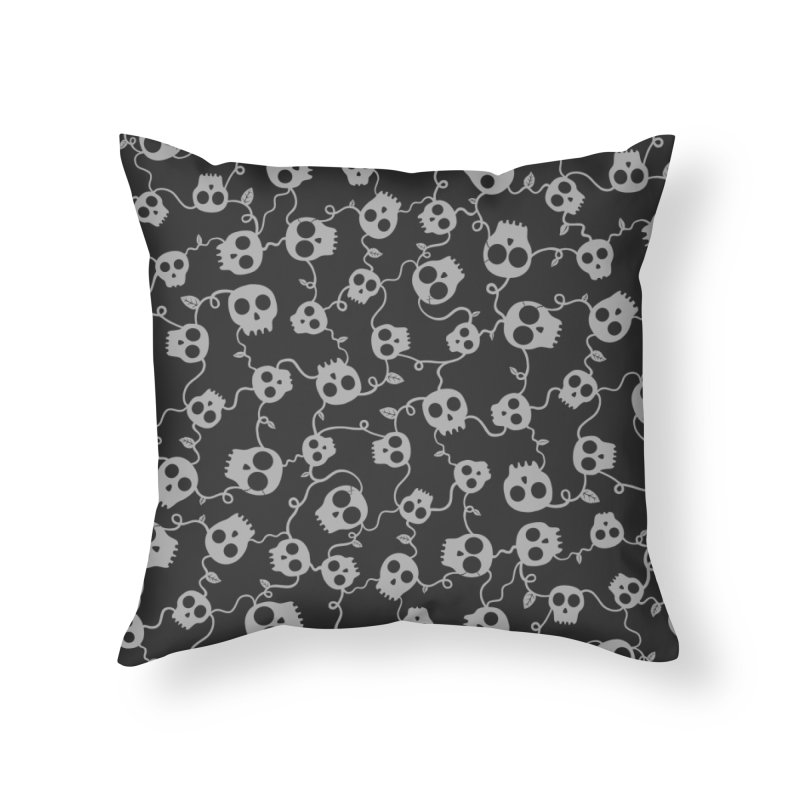 ROUGH PATCH Home Throw Pillow by DYLAN'S SHOP