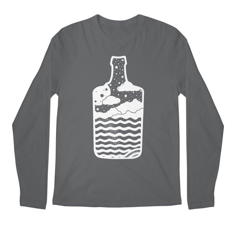 MOONSH/NE Men's Longsleeve T-Shirt by DYLAN'S SHOP