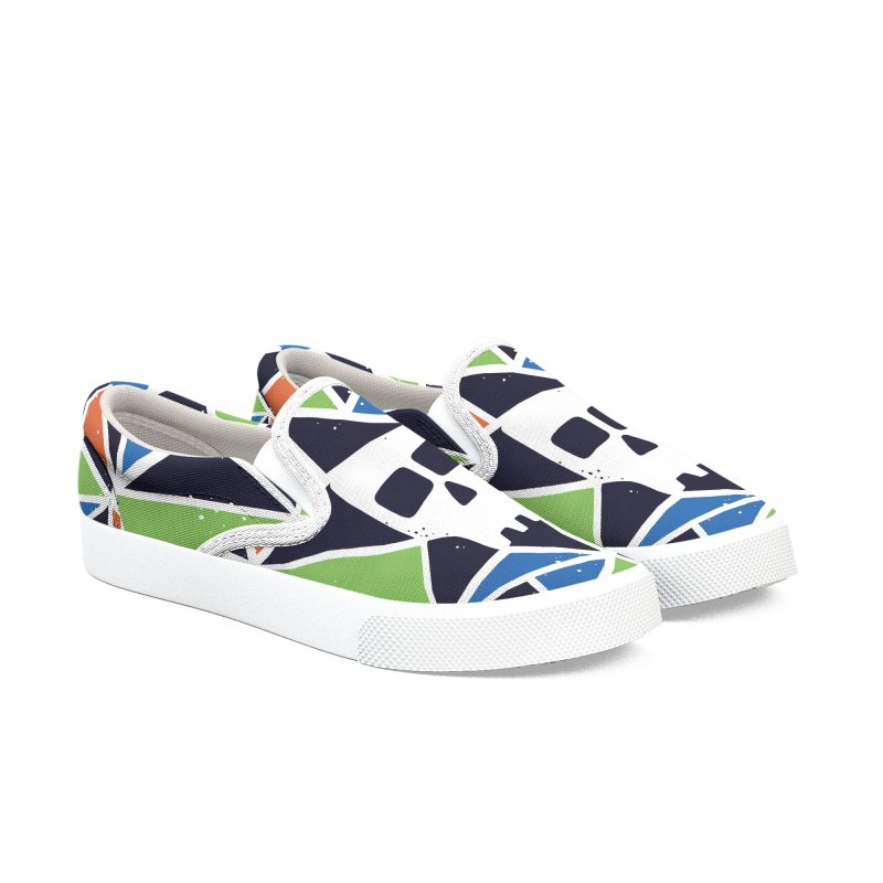 SKULLY Men's Slip-On Shoes by DYLAN'S SHOP