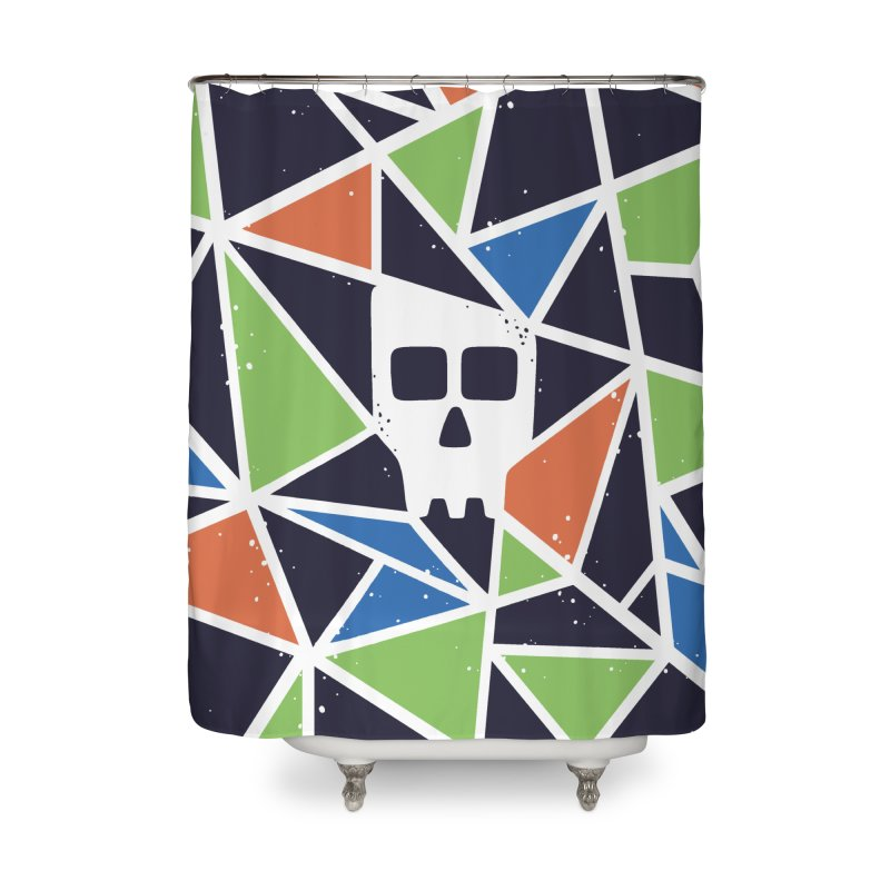 SKULLY Home Shower Curtain by DYLAN'S SHOP