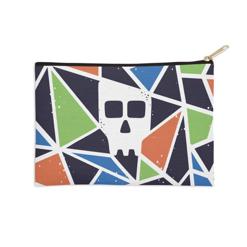 SKULLY Accessories Zip Pouch by DYLAN'S SHOP