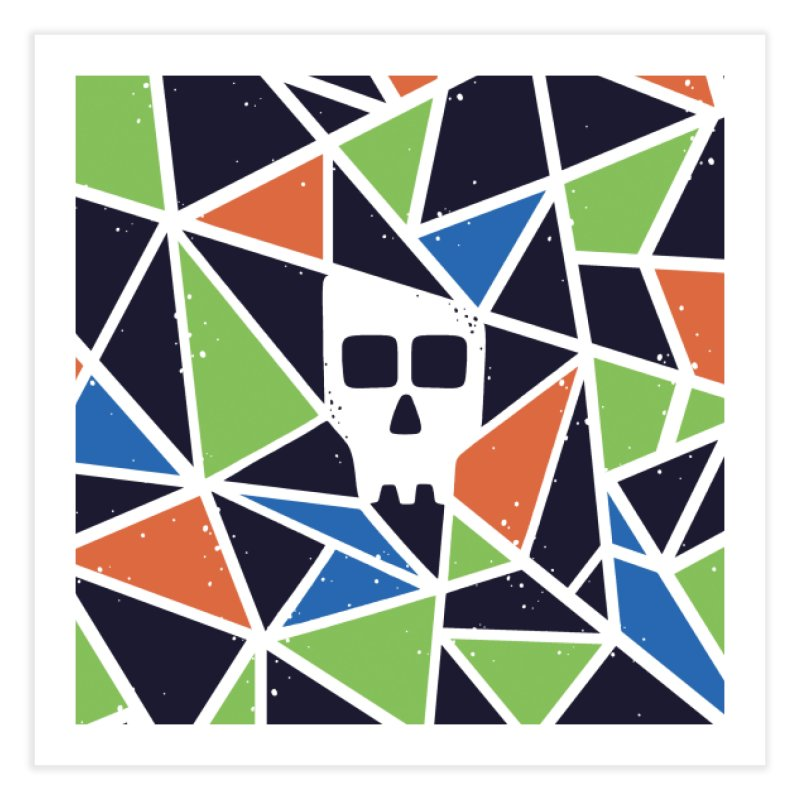 SKULLY Home Fine Art Print by DYLAN'S SHOP