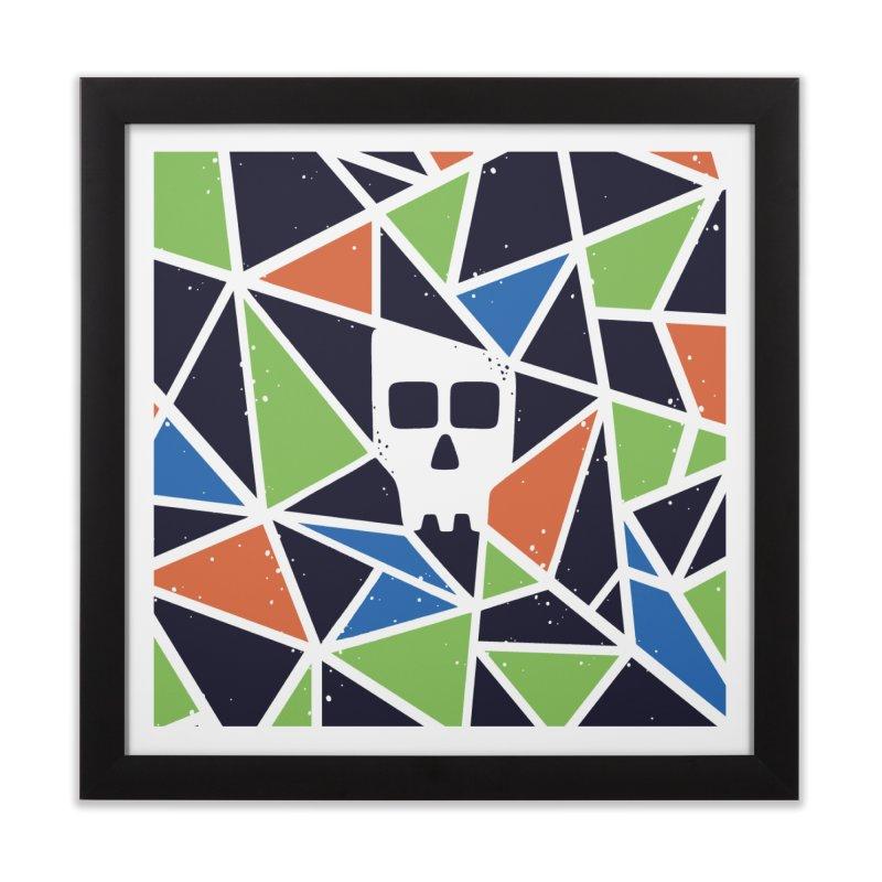 SKULLY Home Framed Fine Art Print by DYLAN'S SHOP