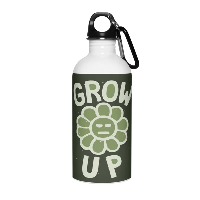 GROW THE F UP Accessories Water Bottle by DYLAN'S SHOP