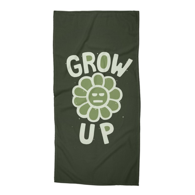 GROW THE F UP Accessories Beach Towel by DYLAN'S SHOP