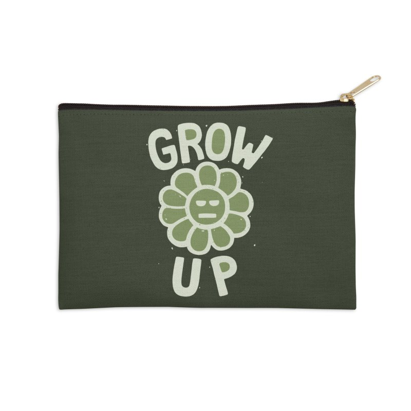 GROW THE F UP Accessories Zip Pouch by DYLAN'S SHOP
