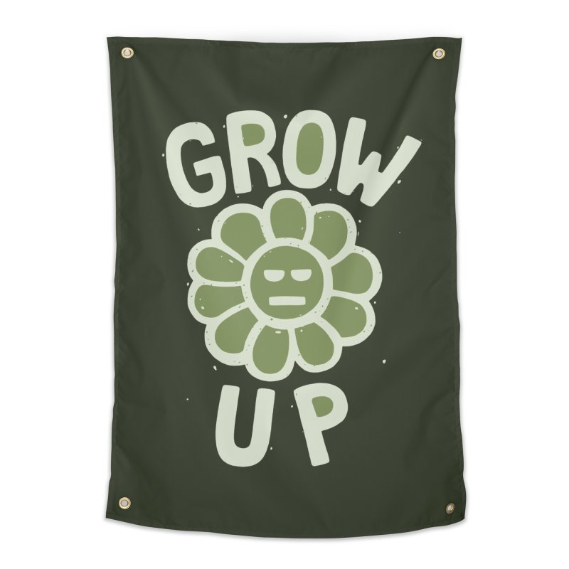 GROW THE F UP Home Tapestry by DYLAN'S SHOP