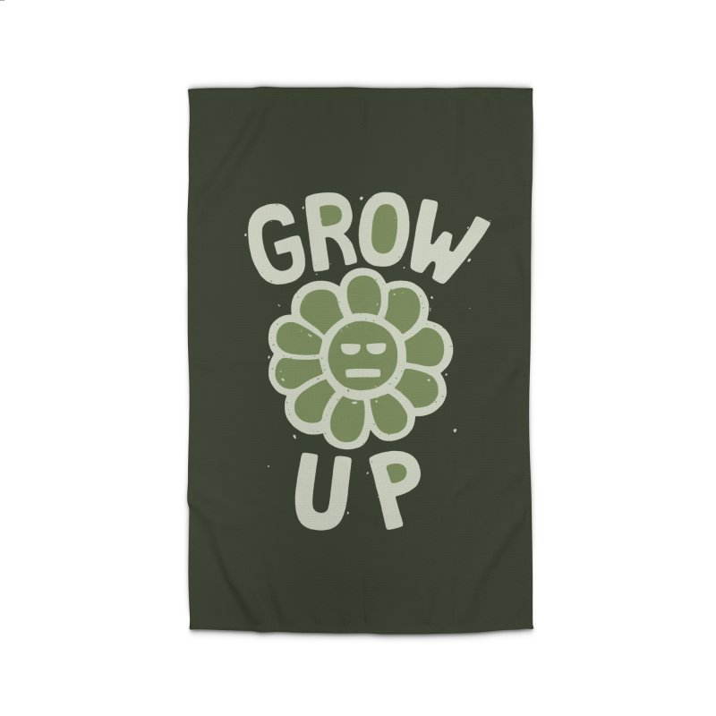 GROW THE F UP Home Rug by DYLAN'S SHOP