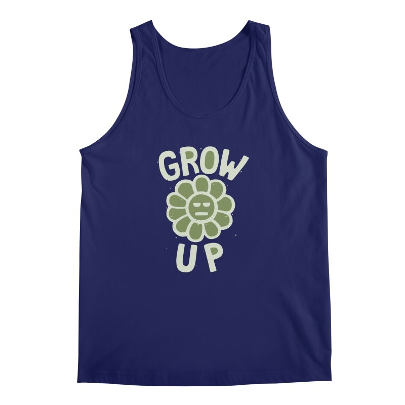 GROW THE F UP Men's Regular Tank by DYLAN'S SHOP