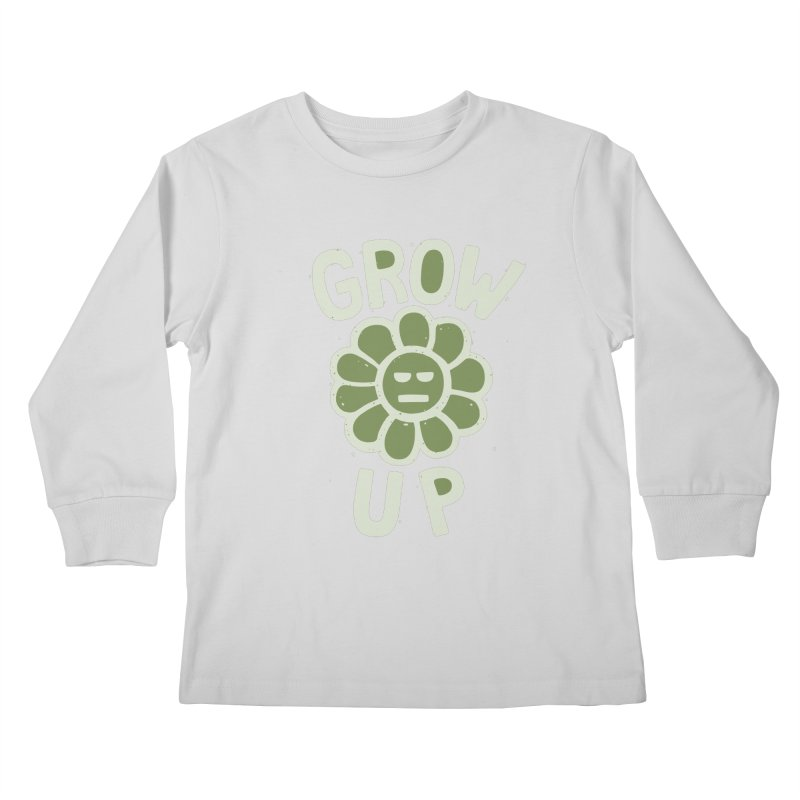 GROW THE F UP Kids Longsleeve T-Shirt by DYLAN'S SHOP