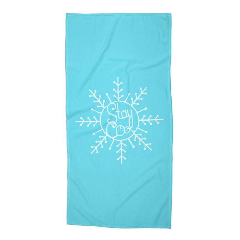 STAY COOL Accessories Beach Towel by DYLAN'S SHOP