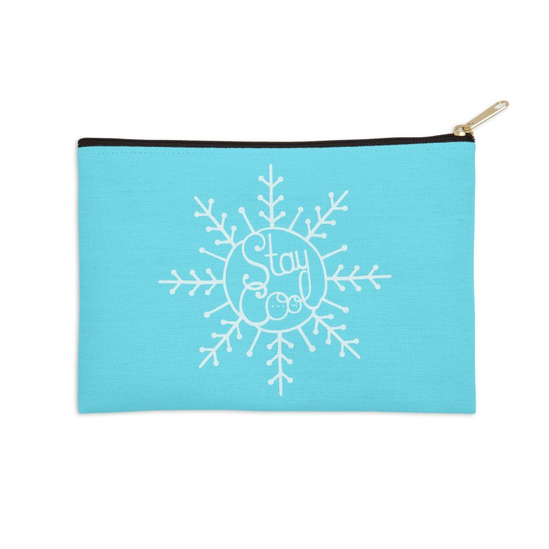 STAY COOL Accessories Zip Pouch by DYLAN'S SHOP