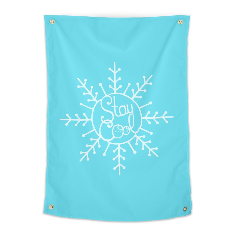 STAY COOL Home Tapestry by DYLAN'S SHOP