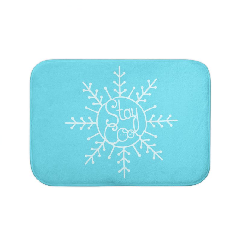 STAY COOL Home Bath Mat by DYLAN'S SHOP