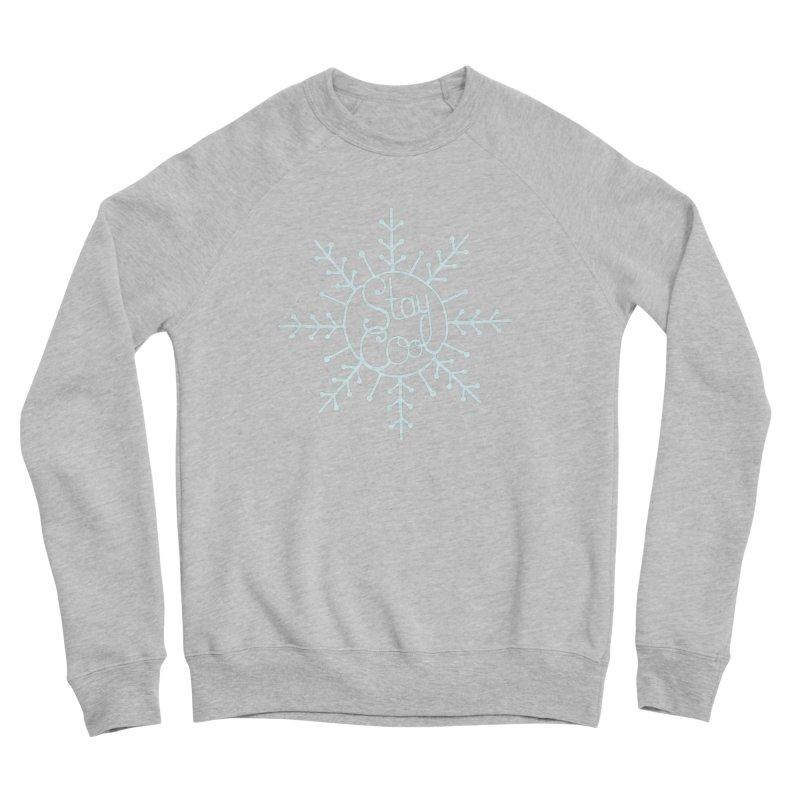 STAY COOL Men's Sponge Fleece Sweatshirt by DYLAN'S SHOP