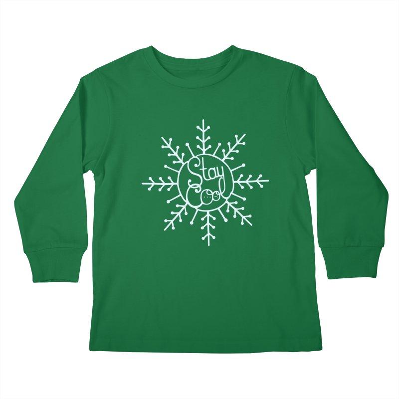 STAY COOL Kids Longsleeve T-Shirt by DYLAN'S SHOP