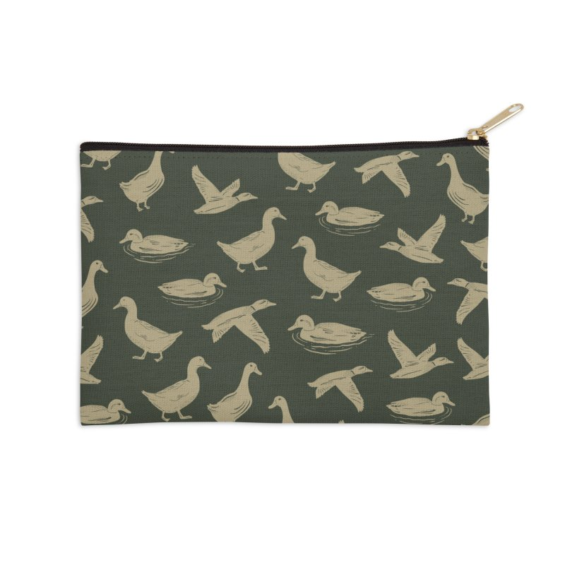A FUCK-TON OF DUCKS Accessories Zip Pouch by DYLAN'S SHOP