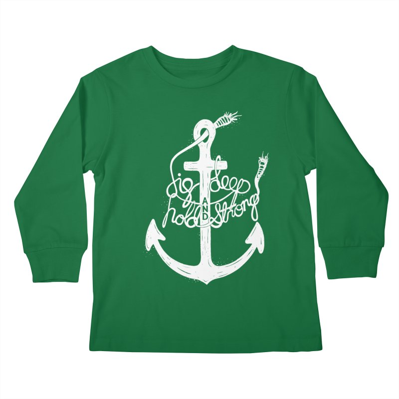 D/G DEEP Kids Longsleeve T-Shirt by DYLAN'S SHOP