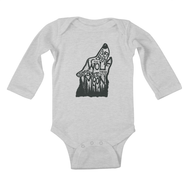 THE WOLF Kids Baby Longsleeve Bodysuit by DYLAN'S SHOP