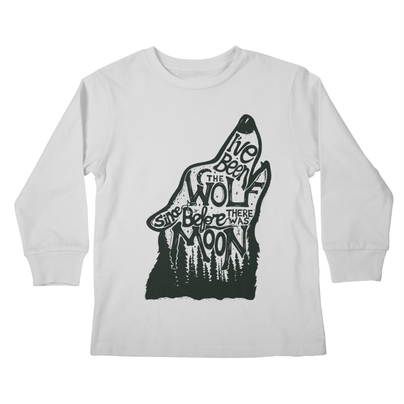 THE WOLF Kids Longsleeve T-Shirt by DYLAN'S SHOP