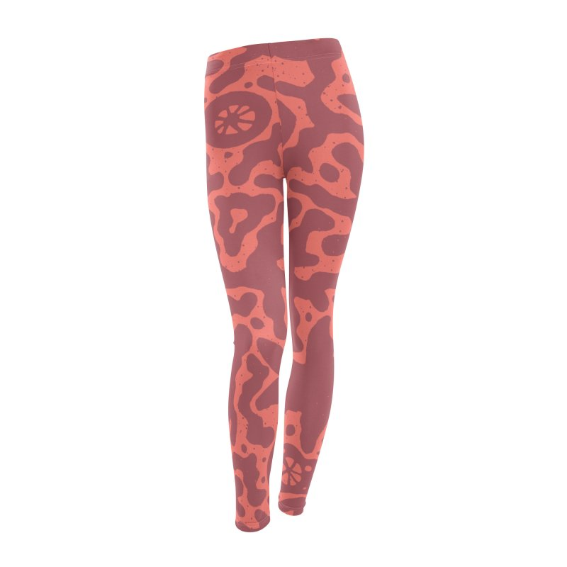 CORAL Women's Leggings Bottoms by DYLAN'S SHOP