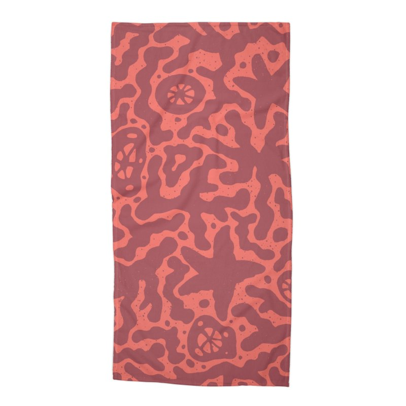 CORAL Accessories Beach Towel by DYLAN'S SHOP