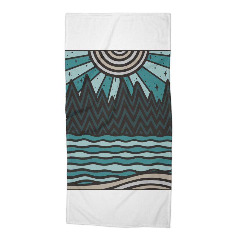UP NORTH Accessories Beach Towel by DYLAN'S SHOP