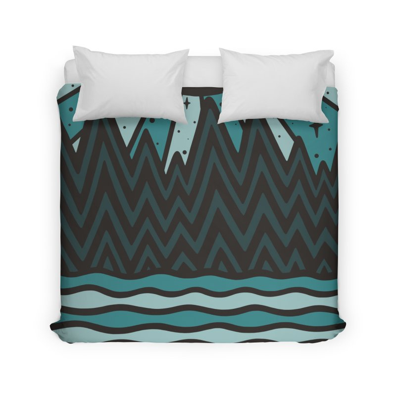 UP NORTH Home Duvet by DYLAN'S SHOP