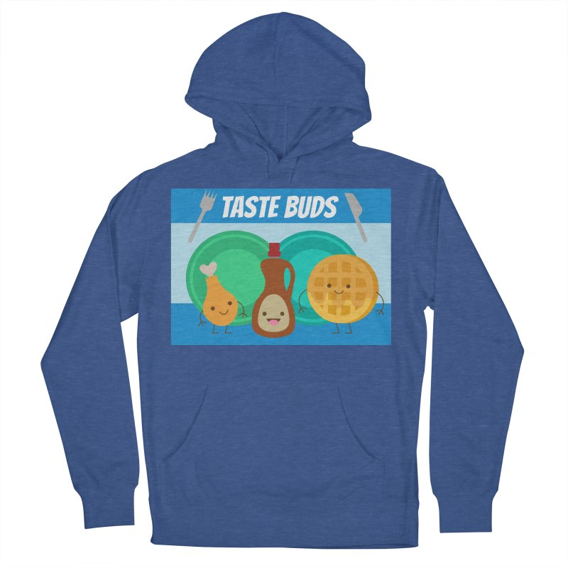 Taste Buds Men's French Terry Pullover Hoody by Angela Tarantula