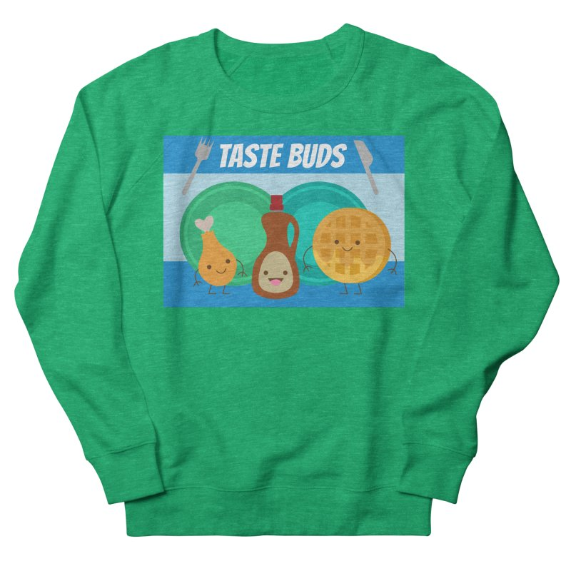 Taste Buds Women's French Terry Sweatshirt by Angela Tarantula