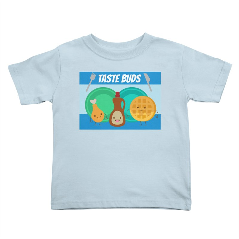Taste Buds Kids Toddler T-Shirt by Angela Tarantula