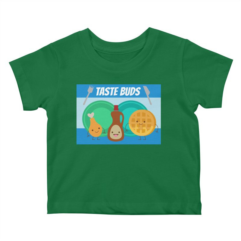 Taste Buds Kids Baby T-Shirt by Angela Tarantula