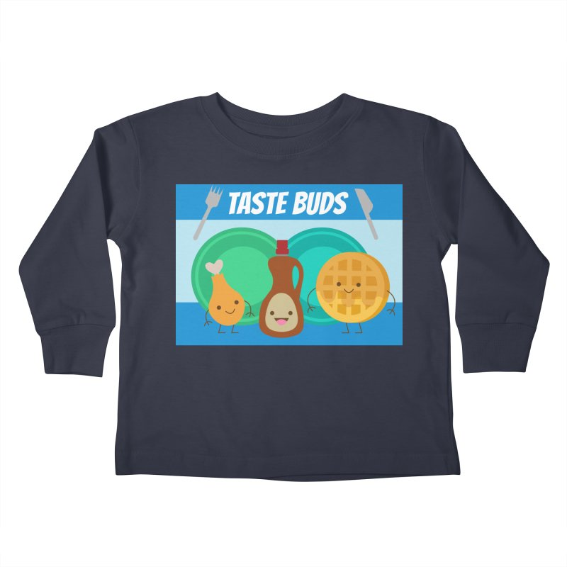 Taste Buds Kids Toddler Longsleeve T-Shirt by Angela Tarantula